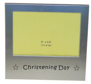 Christening Day Photo Picture Frame Gift 5 x 3.5